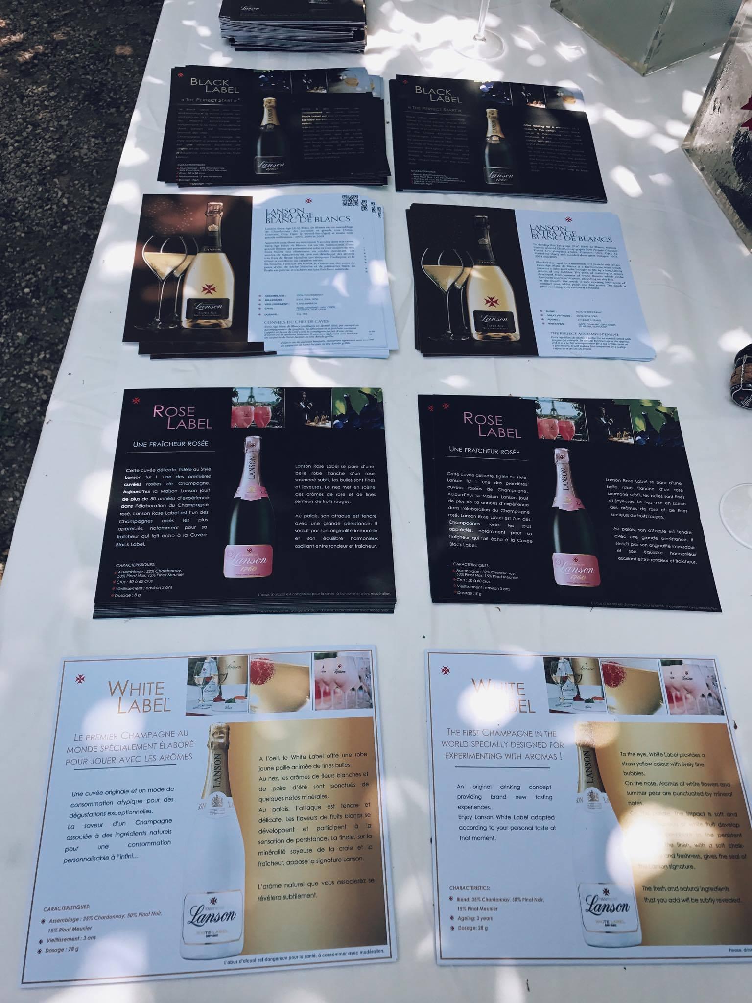 White Brunch – Lanson Champagne